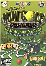 Video Game PC Ultimate Mini Golf Designer 2004 MiniPutt eGames NEW