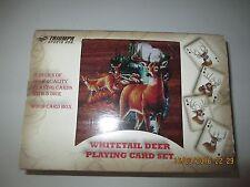 Whitetail Deer Playing Card Set - NEW