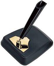 Stylos et crayons de bureau noir en or