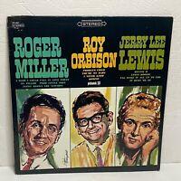 Roger Miller - Roy Orbison - Jerry Lee Lewis: 1965 LP Compilation / Rock Country