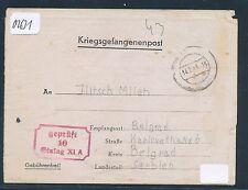 02631) Kriegsgefangenenpost Brf STALAG XI A Altengrabow 1943 > Serbien
