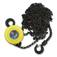Neiko 1 Ton Chain Hoist 2 Hooks | Manual Chain Block 20 Foot Lift