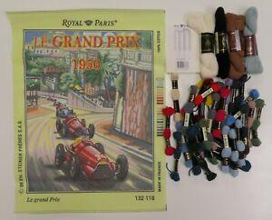 NEEDLEPOINT KIT Grand Prix by Royal Paris (13)