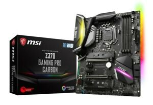 MSI Z370 Gaming Pro Carbon Socket 1151 Intel i3 i5 i7 DDR4 Motherboard Boxed New