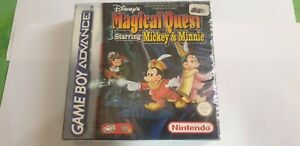 MAGICAL QUEST STARRING MICKEY  MINNIE GAME BOY ADVANCE SOUS BLISTER gba nintendo