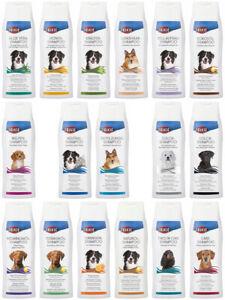 Trixie Shampoo für Hunde alle Sorten Hundeshampoo Welpenshampoo Langhaar 250 ml