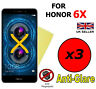 3x HQ MATTE ANTI GLARE SCREEN PROTECTOR COVER FILM GUARD FOR HONOR 6X