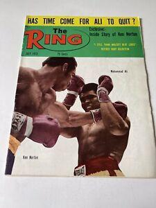 The Ring Boxing Magazine July 1973 (V. LII, #6) Muhammad Ali vs. Ken Norton
