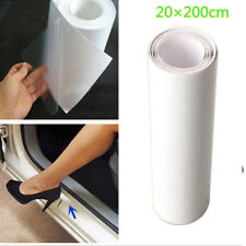Clear Car Door Sill Edge Paint Protection Vinyl Film Sheet Anti-Scratch 8*79inch