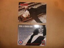 THE TV AVENGERS CORNERSTONE INSIDE TRADER PROMO CARD IT7 DIANA RIGG EMMA PEEL