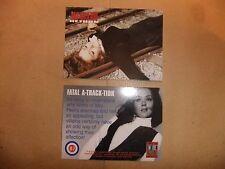 La TV Avengers pietra angolare all'interno Trader PROMO CARD it7 Diana Rigg Emma Peel