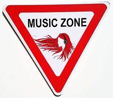 Music Zone Fun College Door Signs Humourous Plaque Home Decor Gift US Seller