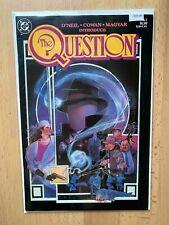 The Question - High Grade Comic Book - B49-86