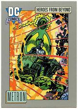 Metron #122 Impel 1991 DC Comics Trade Card (C289)