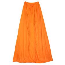 "60"" Adult Orange Cape ~ HALLOWEEN SUPERHERO RENAISSANCE MEDIEVAL COSTUME PARTY"