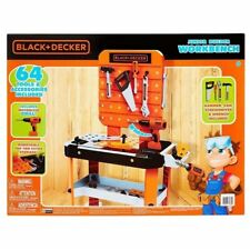 Smoby 360702 Black /& Decker Kids Work Bench and ToolsAmazing Complete
