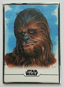 CHEWBACCA 2020 TOPPS STAR WARS STELLAR SIGNATURES REPRODUCTION SKETCH #/100 #6