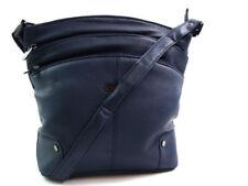 Bolsos de mujer azules medianos sin marca