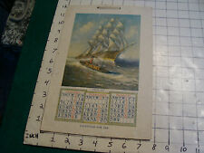 vintage Calendar: 1908 Youth's Companion, 4 pages, Complete