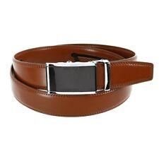 Diversion Safe Secret Stash Leather Brown Money Belt Hidden Pocket Travel Belt