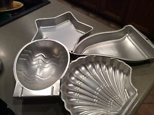 Assorted Cake Molds