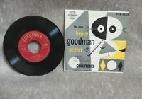 BENNY GOODMAN~The New Benny Goodman Sextet #2~ep on COLUMBIA B-1633