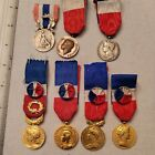7- FRENCH HONOUR MEDALS ALL DIFFERENT  PLEASE LOOK DEALER DEAL SALE !