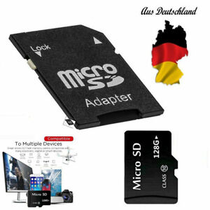 Micro SD Speicherkarte 128GB mit Adapter! Memory Card!