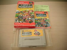 >> SUPER MARIO KART NINTENDO SFC SUPER FAMICOM JAPAN IMPORT COMPLETE IN BOX! <<