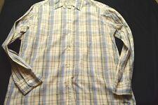 Eddie Bauer Blue Plaid Long Sleeve Button Small Women's Shirt