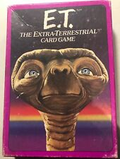VINTAGE - E.T. THE EXTRA-TERRESTRAIL CARD GAME - PARKER BROTHERS 1982