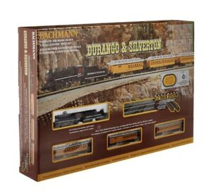 *NEW* Bachmann Trains #24020 Durango and Silverton, N Scale COMPLETE Train Set