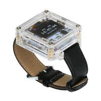 SCM Transparent Electronic Watch DIY Kit Tool LED Digital Tube Set Tool B7T3