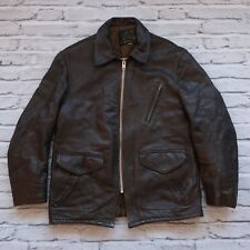 Vintage Schott Perfecto Leather Motorcycle Jacket Size L Steerhide