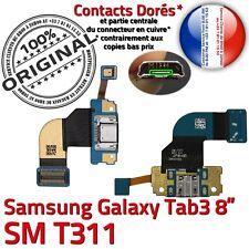ORIGINAL TAB 3 SM-T311 USB Connecteur de Charge Prise Microphone Chargeur Nappe