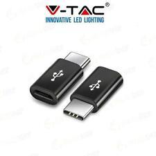 MICRO USB TO TYPE C ADATTORE  NERO - 012382