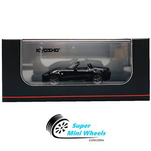 Kyosho 1:64 - 2015 Mazda Roadster RS - Black - Diecast Model
