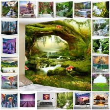 Hippie Psychedelic Scenery Tapestries Home Wall Hanging Tapestry Art Decor Gift