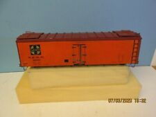 'O' SCALE - S.F.R.D. #18065 / Santa Fe / 42ft. REEFER - WOOD & METAL  w/TRUCKS