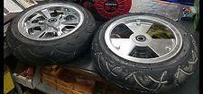 "8"" Aluminum Mini Bike Wheel 90/65-8 road tire"