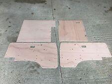 VW T25 Crew Cab Door Cards 4 panel set  80 - 91 in exterior plywood
