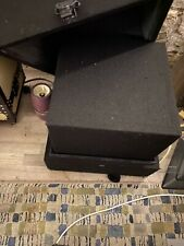 More details for isolated studio speaker and cabinet
