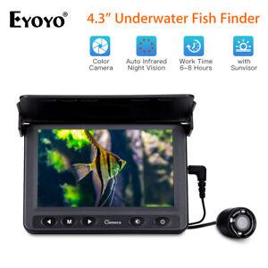 "Eyoyo 4.3"" Fish Finder Waterproof Underwater 15M Fishing Camera Sea Fishing Tool"