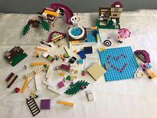 Lego Friends Stephanie's Beach House Party Olivia Misc. Pieces Lot