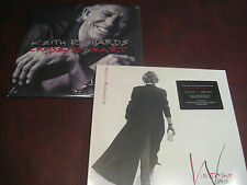 KEITH RICHARDS  VINTAGE VINOS 180 GRAM RED VINYL RARE EDITION + CROSSEYED HEART