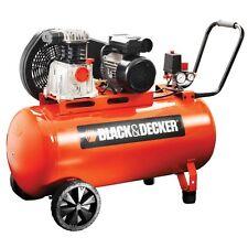 Compressore black & decker bicilindrico a cinghia 100 LT 10 bar
