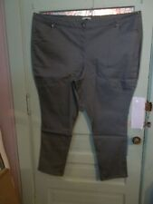 WOMAN'S 34W JEANS - TALL SIZE - OLIVE GREEN