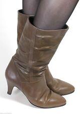Wadenhohe Gabor Damen-Stiefel aus Echtleder mit hohem Absatz (5-8 cm)