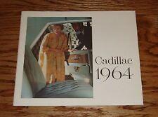 Original 1964 Cadillac Full Line Sales Brochure 64 Fleetwood DeVille