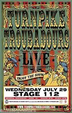 "TURNPIKE TROUBADOURS 2015 ""LIVE ENJOY THE SHOW"" MONTANA CONCERT TOUR POSTER"